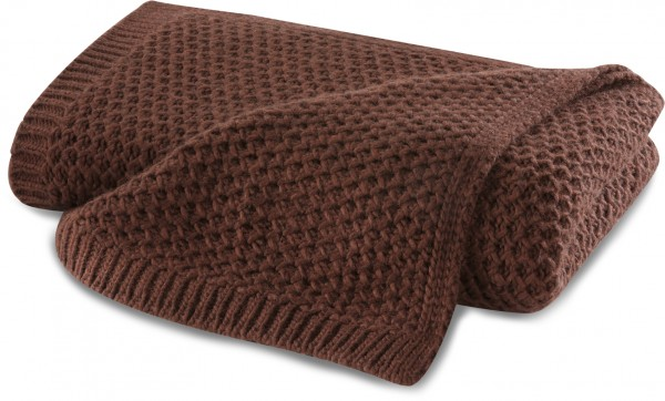 Strickdecke Knit Rust